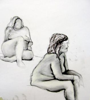 Life Drawing 7 by opsmainframe