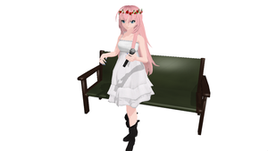 DT JBF / Chiffon Dress Luka (Finished) by DarkAngelAlhena