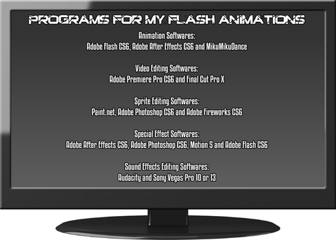 Programs for Flash Animations 2016 by HeiseiGoji91