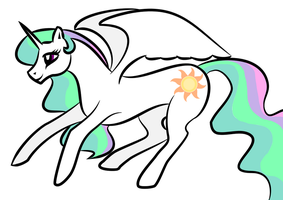 First vector - Natural Celestia by HazardWR