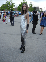 Anime North 2012 - Scale Mail Dress by jmcclare