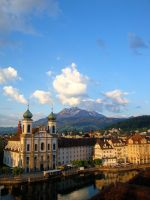 Luzern at Dawn, South by PretendtoBelieve