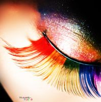 i luv eyelashes 2 by Heavenly-Pure