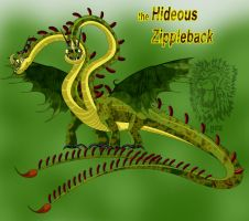 The Hideous Zippleback by DrChillRoach