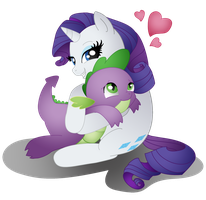 Hug For Spikey by DayDreamerPony