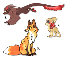 Old designs Sold by griffsnuff