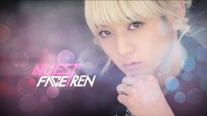 KPOP - Wallpaper - Ren Nu'est by EterNight