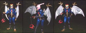 Animated Swoop Costume at Dark by Lunatron
