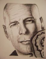 Bruce Willis by marty-mclfy