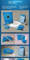 Corporate Identity Mockup by oboishere
