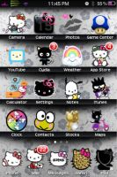 "Hello Kitty ""Shelves"" Theme by aktanner"