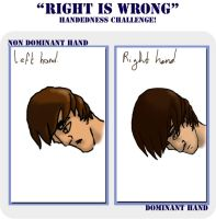 Right is wrong meme by MeggaSweetSmiles