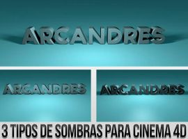 Sombras C4D by Arcandres