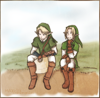 Just A Little Lost by Hylian-Link