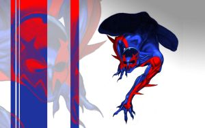 Spider-Man 2099 Desktop by Tophoid