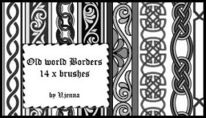 old style borders by visualjenna