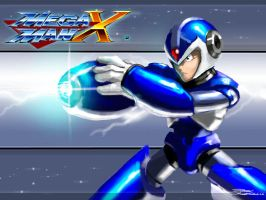 MegaManX by LordHannu