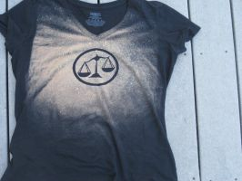 Candor Bleached Tee by waterbender-chan