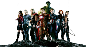 Avengers Render by sachso74