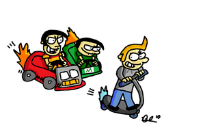 Parker Lot: Mario Kart by austoon