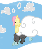 Heads in the Clouds by inkypaws-productions