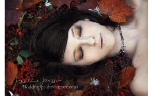 _autumn sleep. by josefinejonssonphoto
