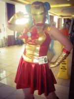 Iron woman! by lilburi4ever