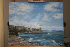 St Andrews from the pier by SHepworth