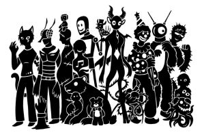 SCP Foundation March Madness Deathmatch by SunnyParallax