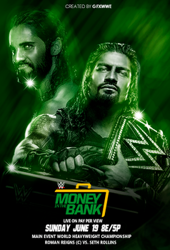 Money in the Bank 2016 by GFXWWE