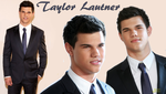 Taylor Lautner Wallpaper by daisybates
