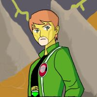 Ben 10 Crossover  -Thundarian by dragonfire53511