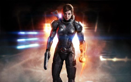 Mass Effect 3 - JerichoFemshep by WillhelmKranz