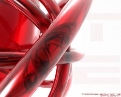 A Red Swirl Abstract Stuff by flame-design