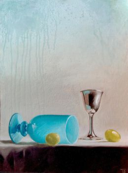 Grapes And Cups study by TomSchmitt