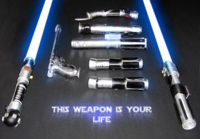 Weapons by Obiwan00