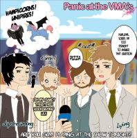 Panic At The VMAs by rachitick