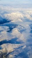 Flying over Anchorage by blacklacefigure