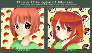 Draw this again meme 2 by Flamyxchan
