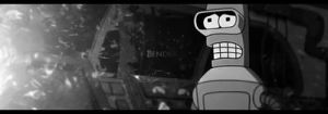 Bender Futurama Sig BlackWhite by ShadorX