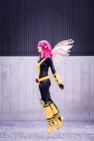 X-Men - Pixie by Shazzsteel
