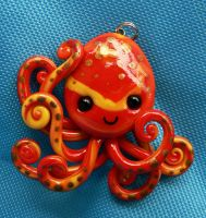 Bright Octopus by BlackMagdalena