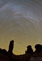 Garden of Eden Star-Trails by BMC-Photography