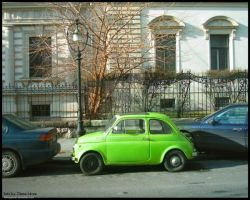 The Bean-mobile by diana-irimie