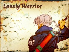 Lonely warrior by nenee