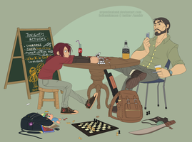 Texas Hold 'Em by felitomkinson