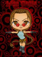 Chibi Lara Croft by SugarPepper
