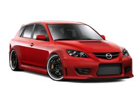 Mazda 3 MPS by AladineSalame