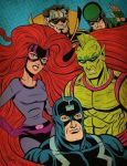 The Inhumans by Layron DeJarnette by DeJarnette