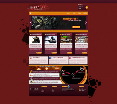 E-trail Hosting template-SOLD by BorisWick